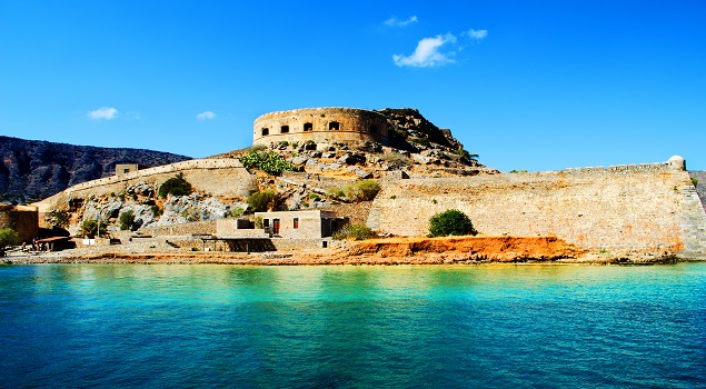 Spinalonga bij Kreta