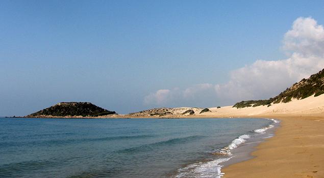 Mooiste stranden Cyprus - Golden Beach