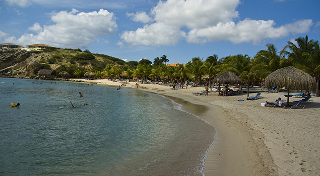 Mooiste stranden Curaçao - Blauwbaai