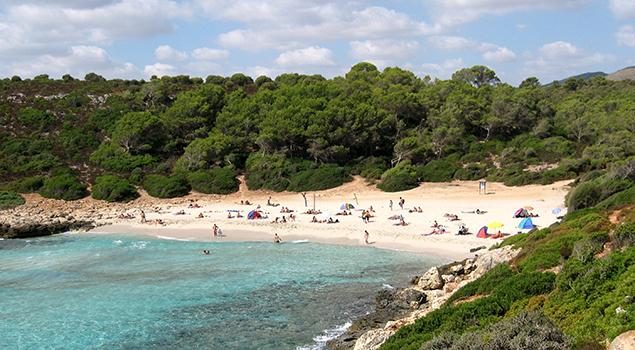 Mooiste stranden Mallorca - Cala Varques