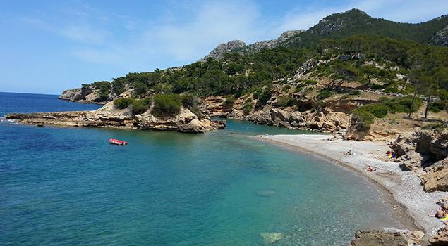 Mooiste stranden Mallorca - S' illot Beach