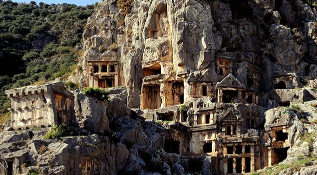 Bezienswaardigheden Turkse Riviera - Demre