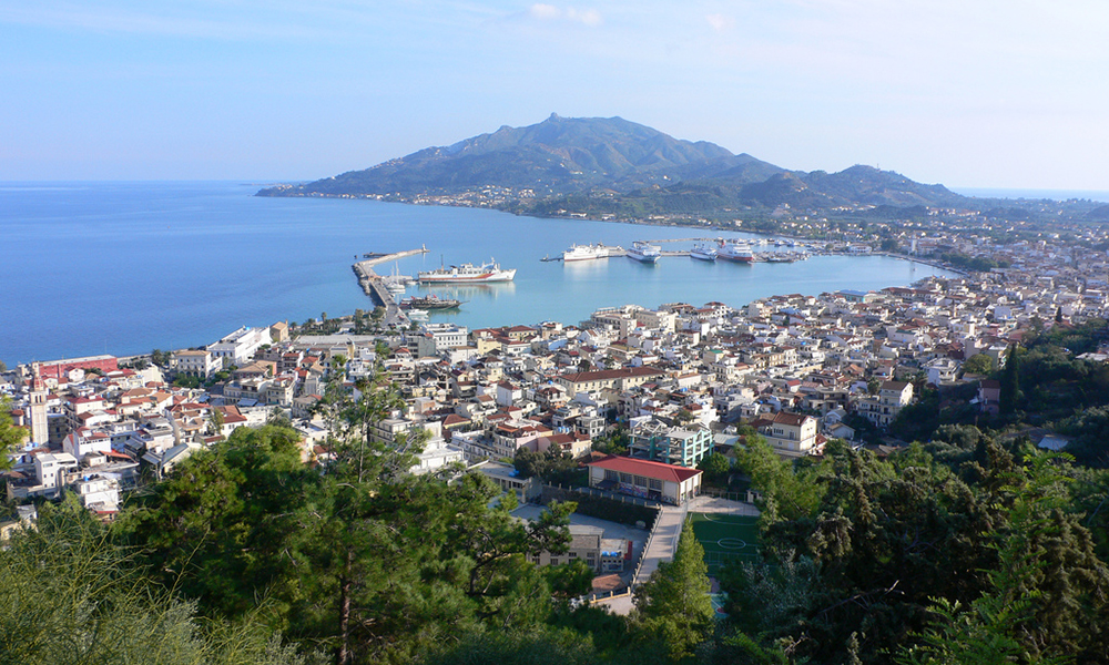 Zakynthos-stad