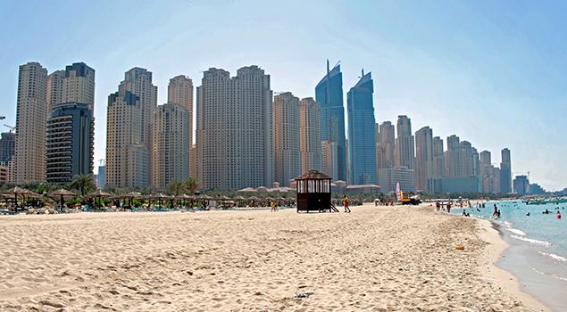 Dubai - Mooi weer in oktober