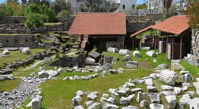 De ruïnes van het Halicarnassus Mausoleum - Weetjes over Turkije