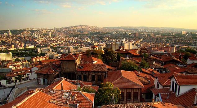 Uitzicht over Ankara - Weetjes over Turkije