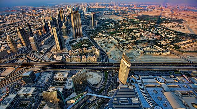 Dubai - Mooi weer in maart