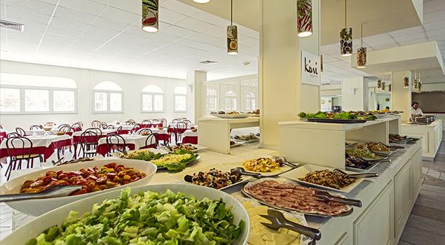 Restaurant bij Club Eloro
