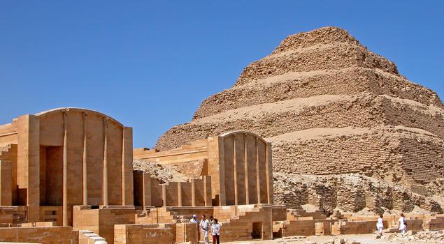 Piramides van Sakkara