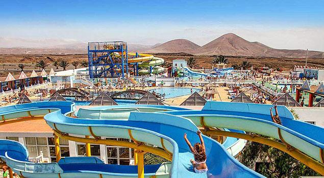Aquapark op Lanzarote