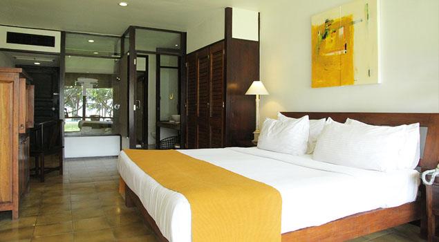 Hotelkamer bij Jetwing Beach