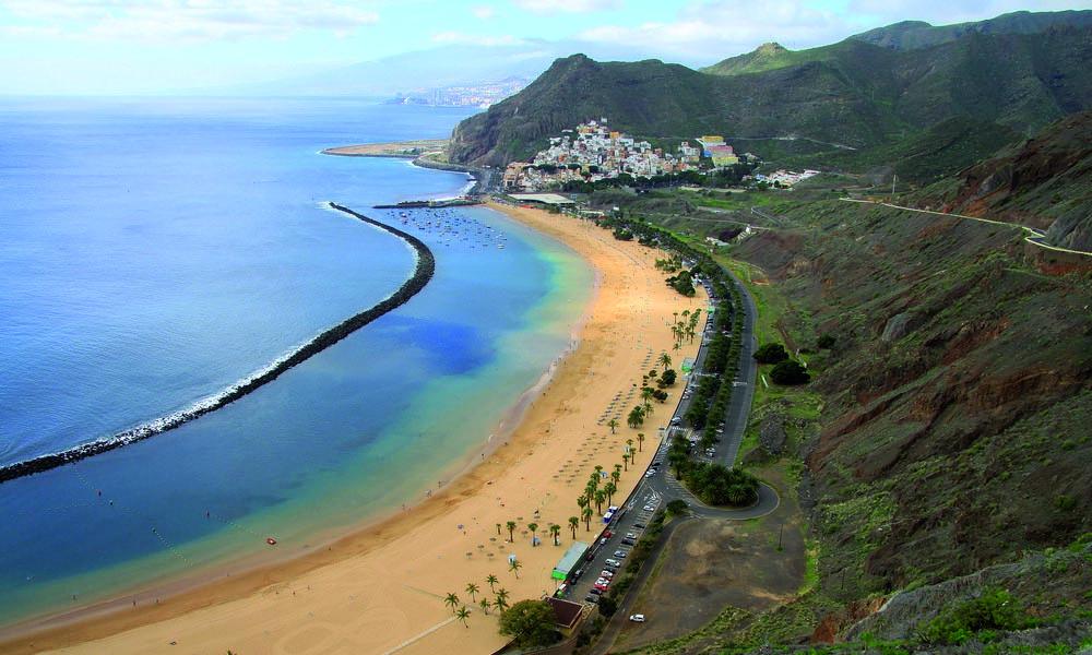 Mooiste stranden van Tenerife