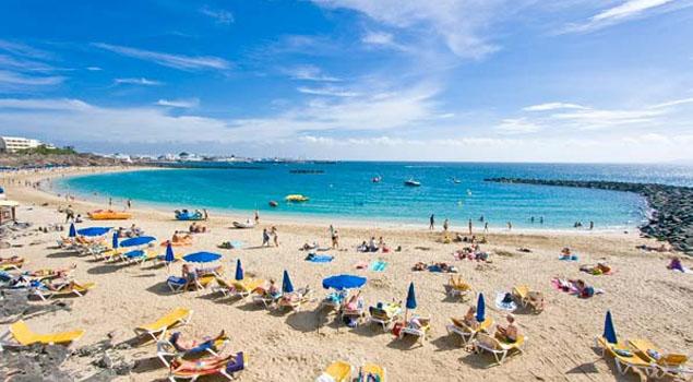 Playa Blanca op Lanzarote