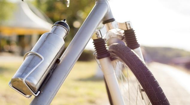 Fles fiets