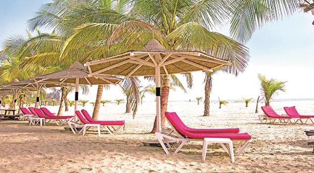 Gambia - zon in februari