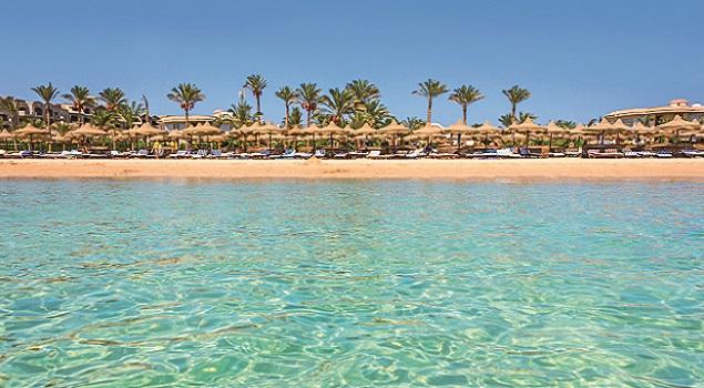 Hurghada - zon in februari