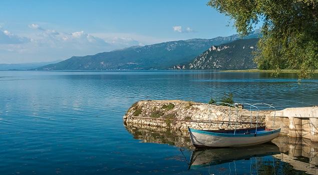 Meer van Ohrid rustzoeker