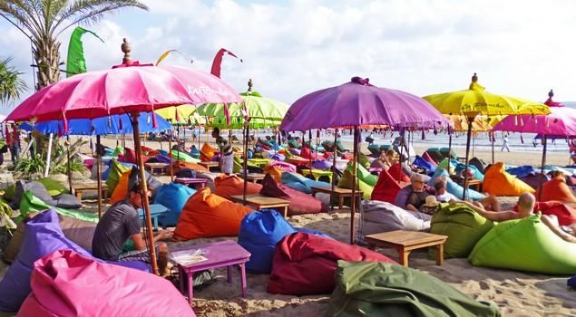 Relaxen op Seminyak Beach