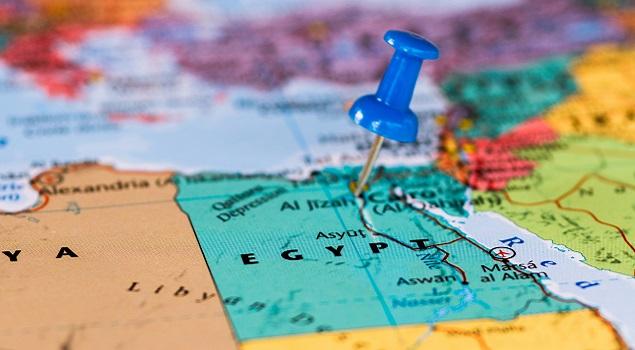 Egypte kaart