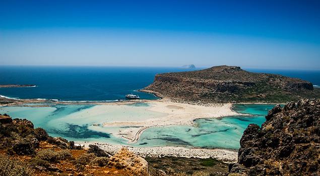 Bezienswaardigheden Kreta - Balos Beach