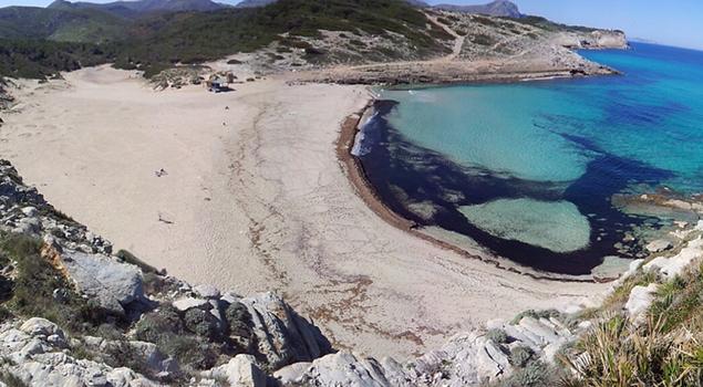Mooiste stranden Mallorca - Cala Torta