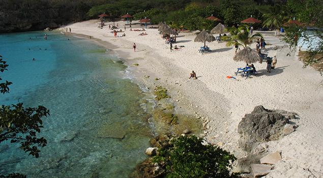 Mooiste stranden Curaçao - Grote Knip