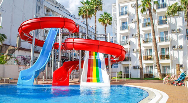 Aquapark Turkije - Ideal Prime Beach