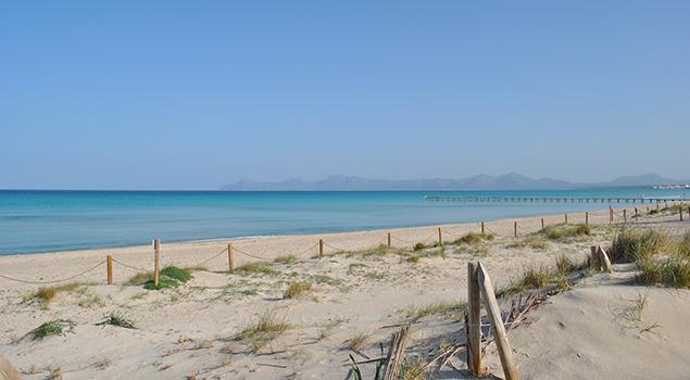 Mooiste stranden Mallorca - Playa de Muro
