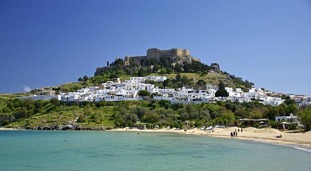 Huwelijksreis Griekenland - Rhodos