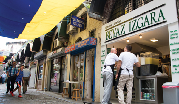 Restaurants in Istanbul - Beyaz Izgara