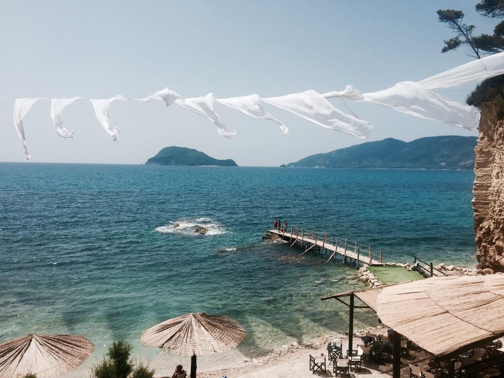 Cameo Beach Club op het eilandje Agios Sostis