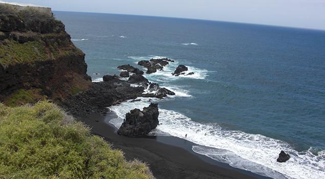 Stranden op Tenerife - Playa Bollullo