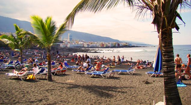 Stranden op Tenerife - Playa Jardin