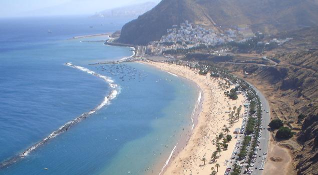 Stranden op Tenerife - Playa de las Vistas