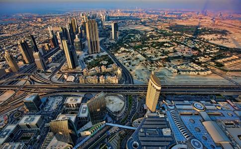 Skyline Dubai. Foto: Michael Theis