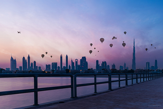Bezienswaardigheden in Dubai - Heteluchtballon