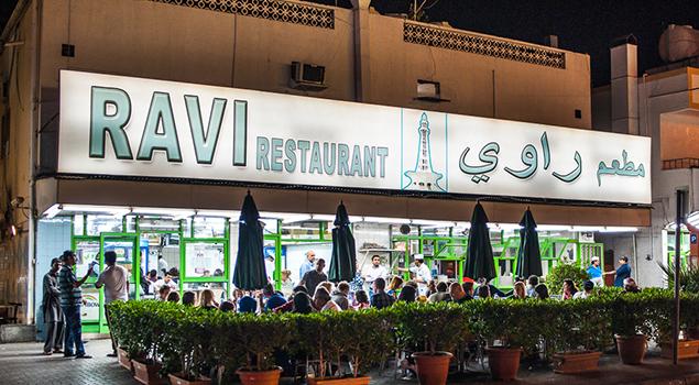 Bezienswaardigheden Dubai - Pakistani Ravi Restaurant