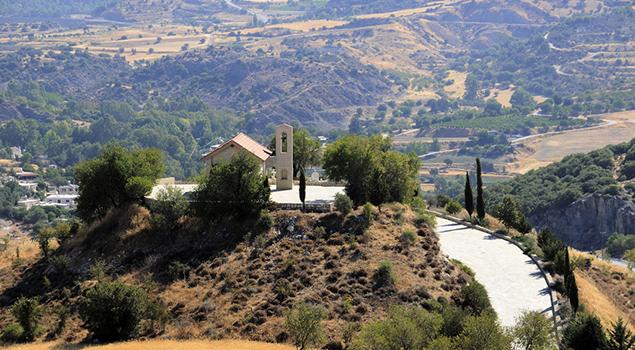 Bezienswaardigheden op Cyprus - Troödosgebergte
