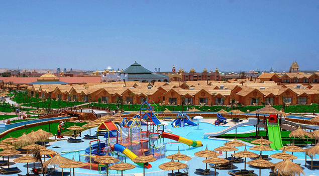 Winterzon in Egypte - Jungle Aqua Park