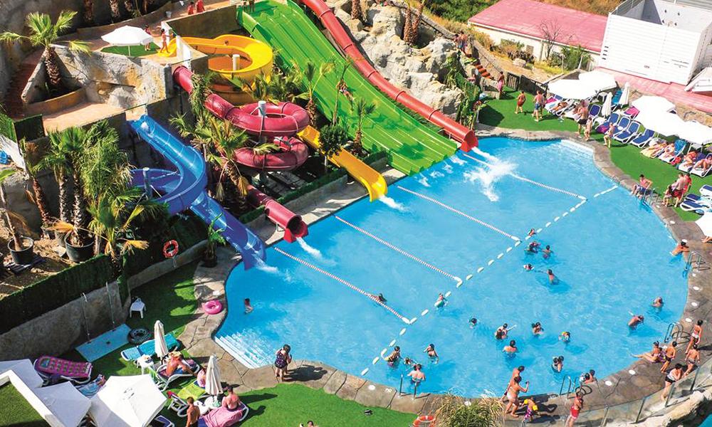 Hotels in spanje met geweldige zwembaden en waterparken