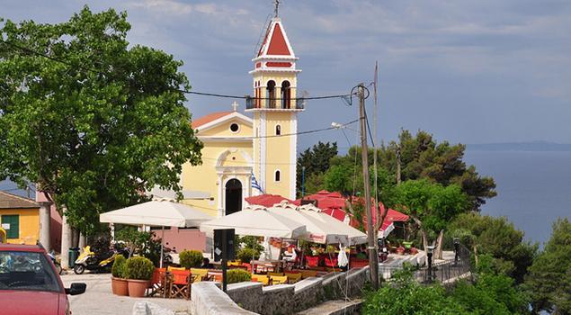 Wandelen op Zakynthos - Bochali kerk