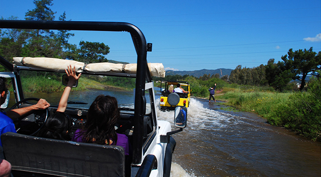 Excursies Turkse Riviera - Jeep Safari