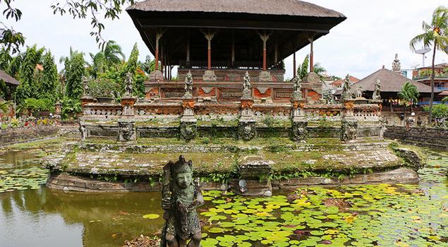 Klungkung Paleis -  - Bezienswaardigheden Bali