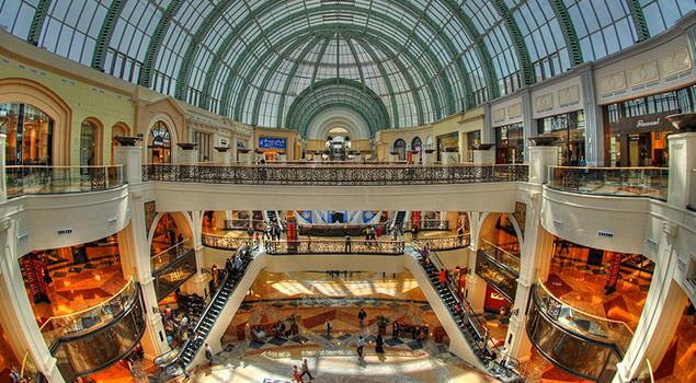 Shoppen in Dubai - Mall of the Emirates