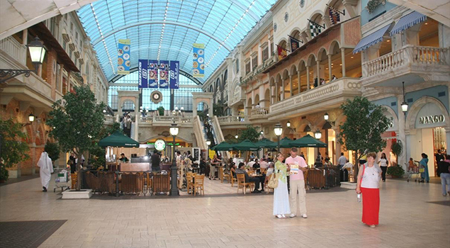 Shoppen in Dubai - Mercato Shopping Mall