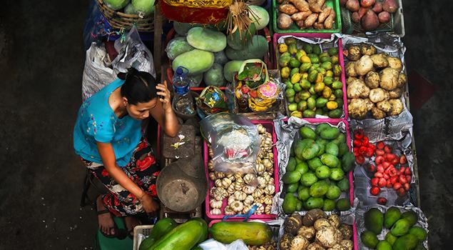 Pasar Badung - Bezienswaardigheden Bali