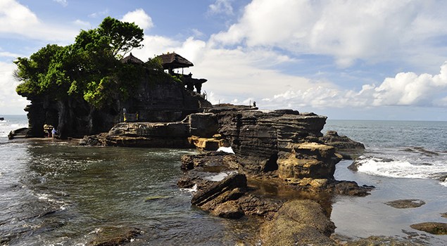 Highlights Bali - Tanah Lot tempel