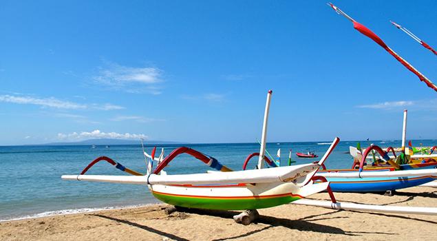 Sanur Beach - Bezienswaardigheden Bali