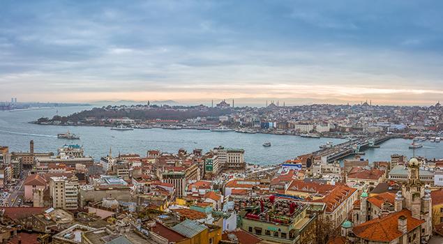 Uitzicht over Istanbul en de Bosphorus - Weetjes over Turkije