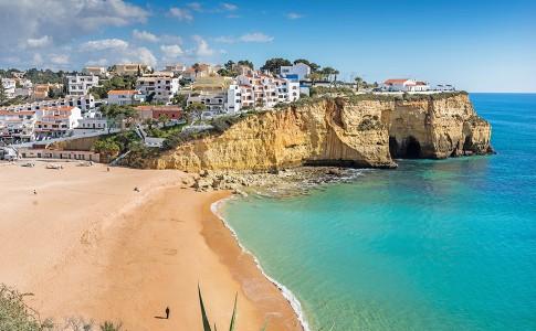 Stranden Algarve - Praia de Carvoeiro